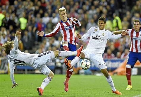 Fútbol en la tele: Real Madrid Atlético de Madrid, horario ...