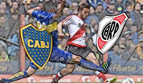 Fútbol en Vivo: Boca vs. River por el partido de ida de la ...
