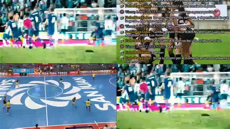 Futbol En Vivo   Eibar vs Las Palmas / Colombia vs Ecuador ...