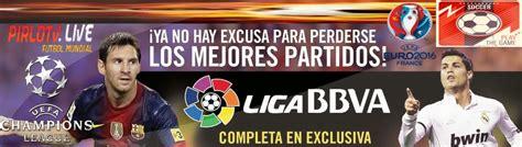 Futbol en vivo gratis   Pirlo TV   Rojadirecta