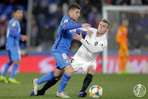 FÚTBOL/ Getafe 1 0 Valencia: Molina marca la diferencia ...