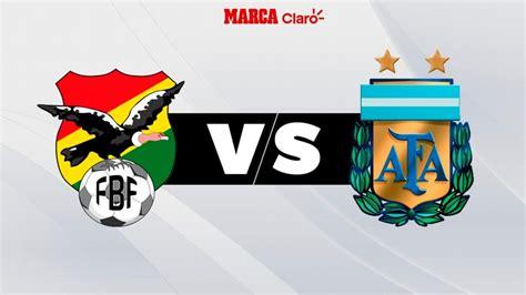 Fútbol hoy: Bolivia vs Argentina: Horario y dónde ver en ...