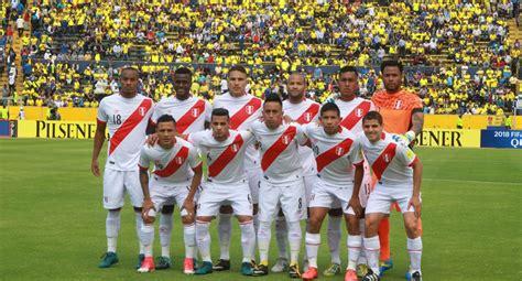 Fútbol Internacional: VER AQUÍ Perú vs. Ecuador EN VIVO ...
