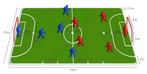 futbol sala: posiciones