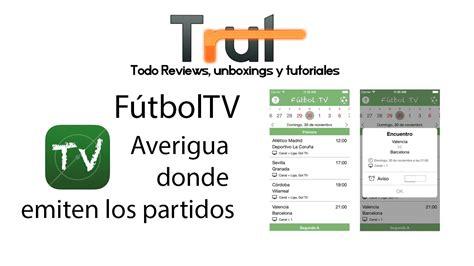 Fútbol TV   Horarios de fútbol y televisión  iOS App ...