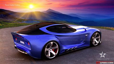 Futuristic Ford Shelby Cobra Visualized by Thebian ...