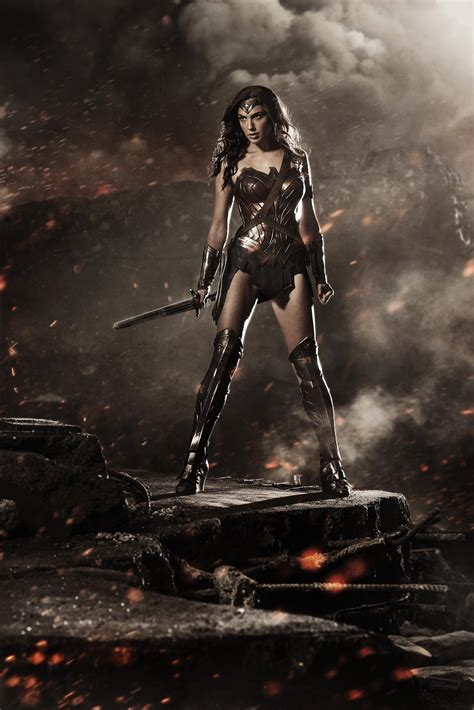Gal Gadot as Wonder Woman photo revealed at Comic Con