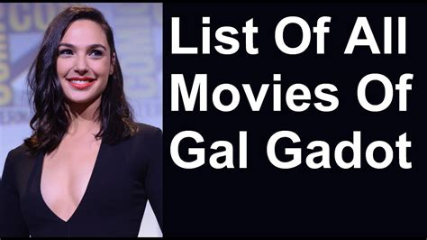Gal Gadot Movies & TV Shows List   YouTube