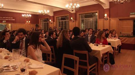 Gala Navidad Colegio Mayor San Pablo Santa Mónica   YouTube
