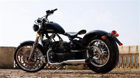 Galería de fotos de la moto Leonart Bobber 125 2010 ...
