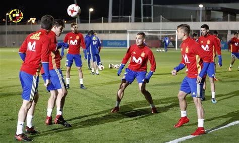 GALERÍA | El entrenamiento de los Sub 21, en fotos | SEFutbol