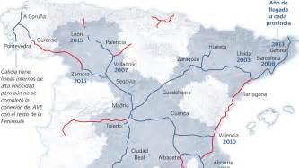 Galicia espera al 2019 para tener el AVE que disfrutan ya ...