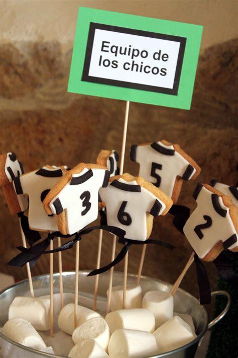 Galletas/Cookies: Mesa dulce con temática de fútbol para ...
