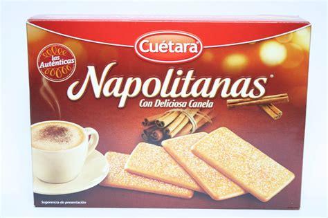 Galletas Napolitanas de Canela.