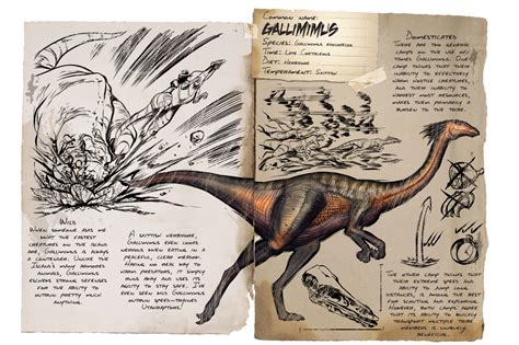 Gallimimus   Official ARK: Survival Evolved Wiki