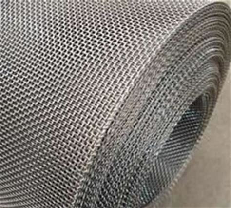 Galvanized Square Hole Mesh with Selvedge, Steel Screen ...