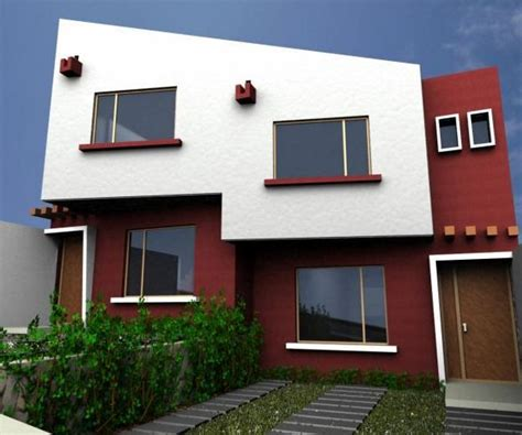 gama de colores para fachadas   Exteriores de casas ...