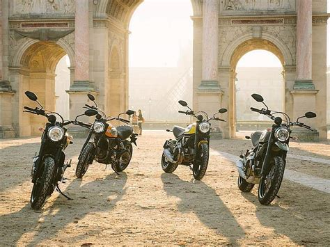 Gama Ducati Scrambler: Icon, Classic, Full Throttle y ...