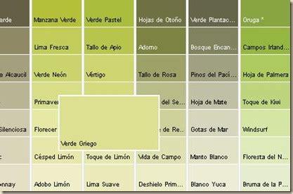 Gamas de verdes   Imagui