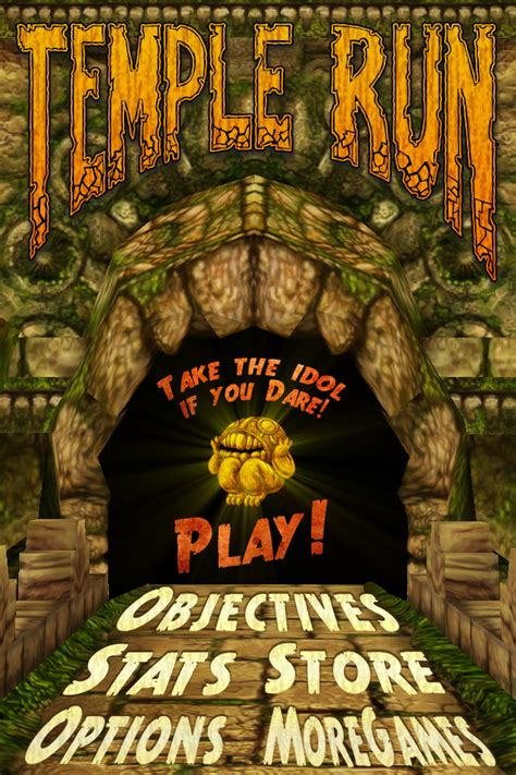 Game Journal: Temple Run  iPod Touch