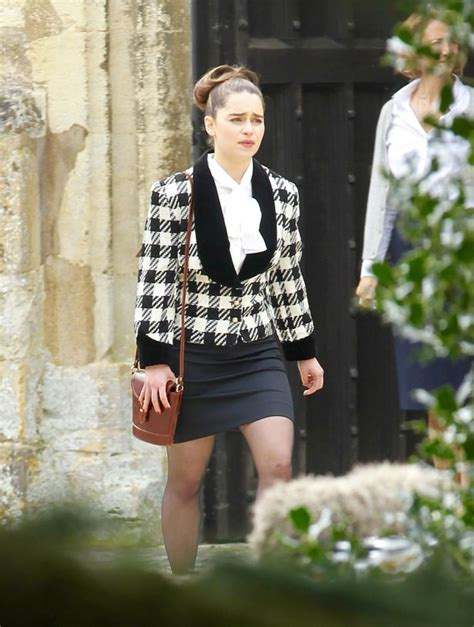 Game of Thrones star Emilia Clarke looks almost ...
