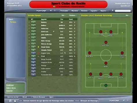 Gameplay   Football Manager 2005   Sport 1 x 1 Vitória ...