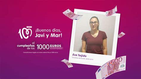 ¡Gana 1.000 euros como Eva Teijido!   El cumpleaños de los ...