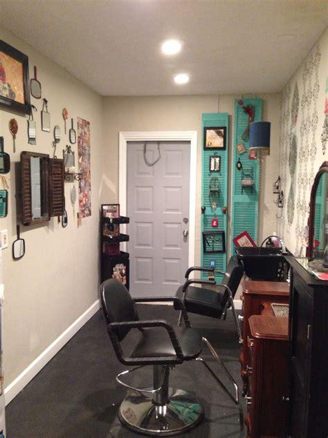 Garage salon   Home hair salons, Home salon, Salon decor