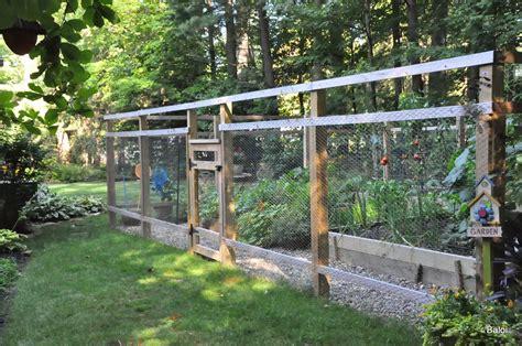 Gardeners with kids: The vegetable garden fence