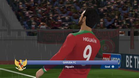 GARUDA FC VS PORTUGAL Dream League Soccer 2017   YouTube