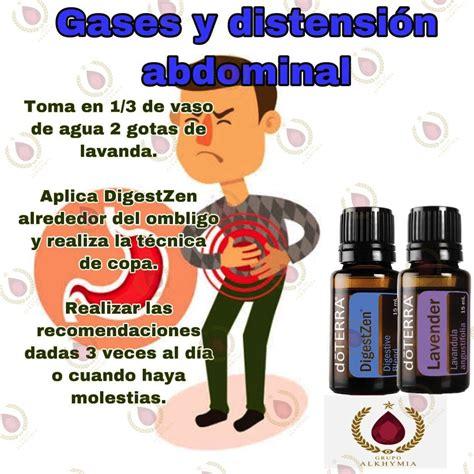 Gases estomacales   Aceites esenciales doterra, Recetas de ...