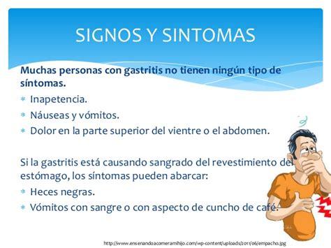 Gastritis y cancer de estomago