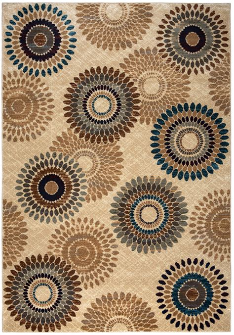 Gatney Rugs Milford Area Rugs   BV3974 Contemporary Ivory ...