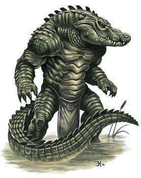 Gator men....i want one | Creature art, Fantasy monster ...