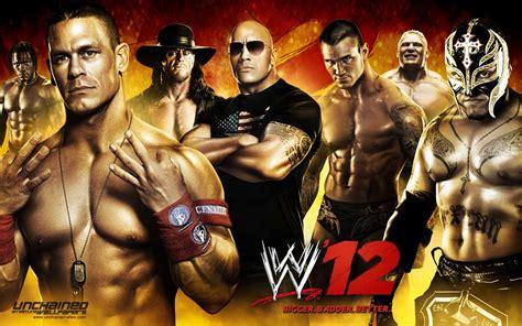 Geek Xplore: W 12 Wallpaper Feat Rock, Cena, Mysterio ...