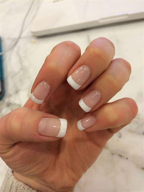 Gel French Manicure   Manicura de uñas, Uñas para novia ...