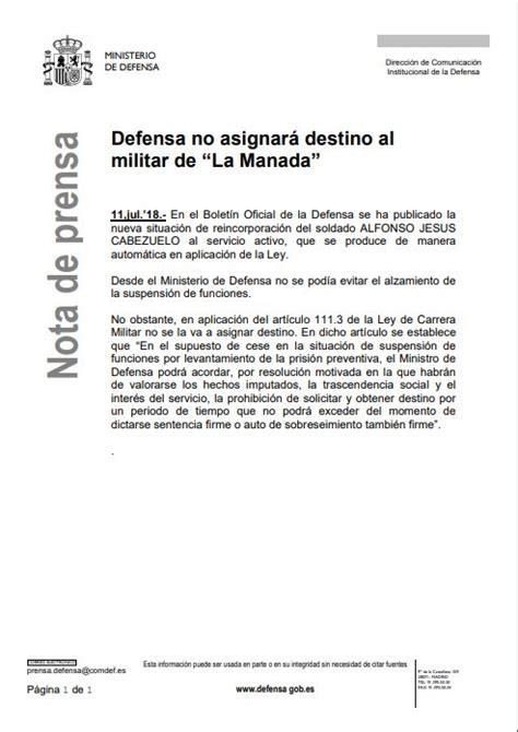 Gelán Noticias: El Ministerio de Defensa ha difundido una ...