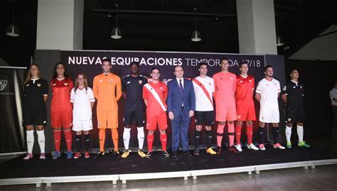 Gelán Noticias: El Sevilla Fútbol Club presentó la nueva ...