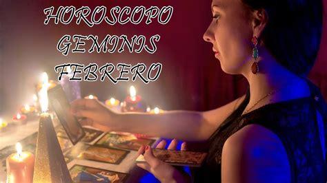 GEMINIS Horoscopo Mensual De FEBRERO 2021   YouTube