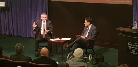 Genaro García Luna of GLAC Consulting Speaks at Rice ...