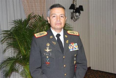 General Ernesto González justifica operación durante 30 S ...