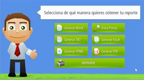 Generando Reportes e Informes dentro del sistema » EGA ...