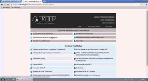 Generar certificado digital AFIP para factura electrónica ...