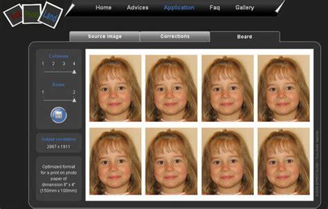 Generar fotos tamaño carnet al instante y online ...