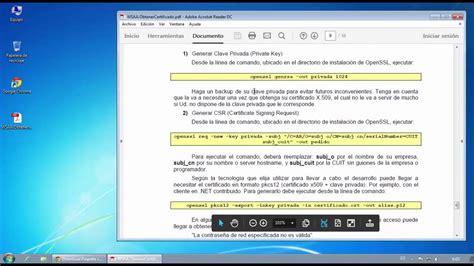 generar solicitud certificado digital AFIP para Factura ...