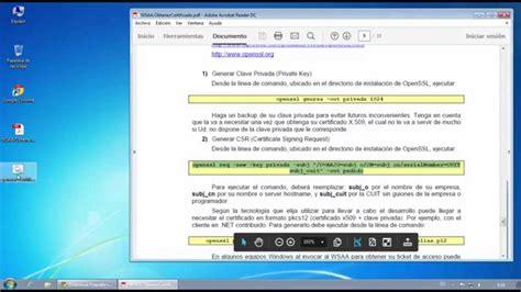 Generar Solicitud de Certificado Digital para Factura ...