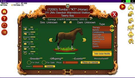 Genetic Games: Virtual Horse Ranch 3D in Alpha
