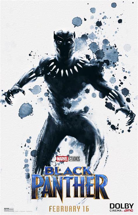 Genial nuevo póster de Black Panther exclusivo de Dolby ...