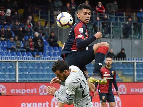 Genoa Roma 1 1: Romero nel recupero affonda la Champions ...