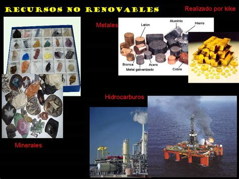 Geografia CCH UNAM: Ejemplos de Recursos no Renovables
